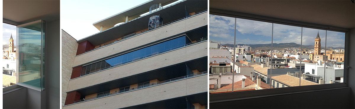 Inchidere balcon sticla glisanta